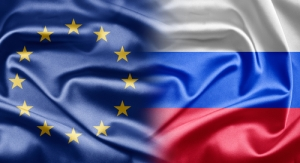 EU-Russia flags