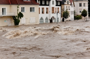 Floods and flooding in Steyr, Austria