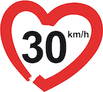 30kmh in a heart