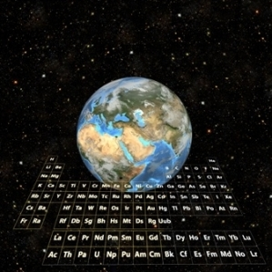 World with Mandeleev's table