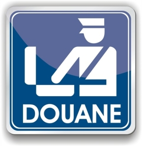 Douane sign