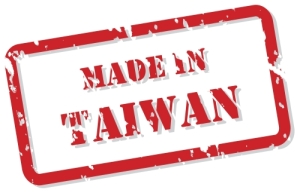 Made In Taiwan Stamp