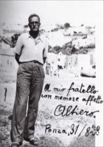 """Altiero Spinelli, extracted from DVD """"Per una Europa Libera e Unita"""", Imago Film Videoproduzioni"""