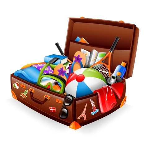Suitcase For Traveling To Europe