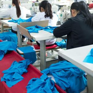 Workers conditions in the textile and clothing sector
