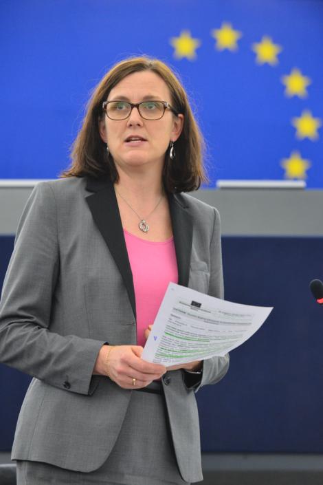 Public debate following the hearing of EU Commissioner-designate for trade Cecilia Malmström before the EuropeanParliament