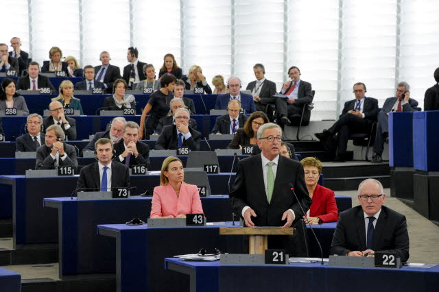 The new european commission ready to take office on 1 november european parliamentary - European commission office ...