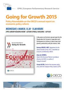 Going for Growth OECD/EPRS