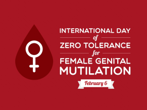 Zero tolerance for female genital mutilation