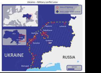 Ukraine – Military conflict area