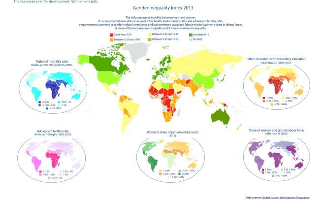 Gender Inequality Index 2013