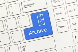 archive button
