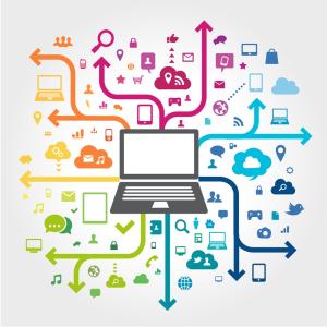 Digital market diagram