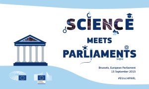 Science meets Parliament - social media