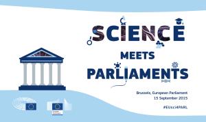 Science meets Parliament - social media
