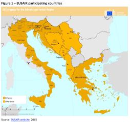 EUSAIR participant countries