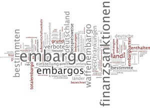Embargo wordcloud