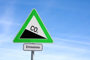 CO2 reduction sign