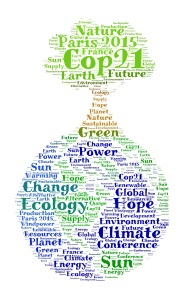 COP21 wordcloud