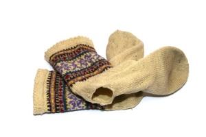 Energy poverty: socks