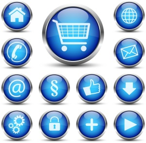 Online sale icons