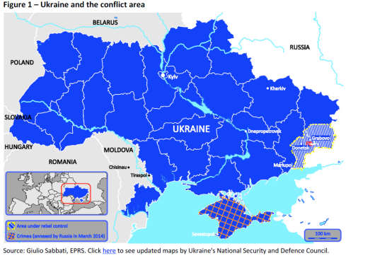 Ukraine and the conflict area