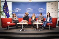 Marie-Claire AOUN, Monika NOGAJ, Alice BAILLAT, Philippe PERCHOC, GABRIEL, Mariya (EPP, BG),