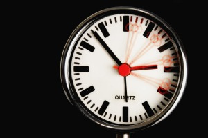 Summertime: changing of the clocks