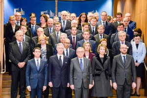 Minute of silence to commemorate the victims of the terrorist attacks in Brussels