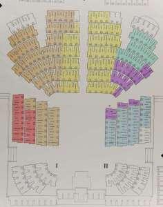Chamber seating plan (September 1975)