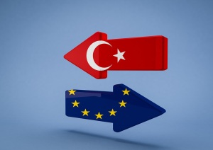 Turkey and EU arrows