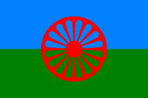Flag of the Romani people