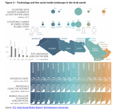 Technology and the social media landscape in the Arab world