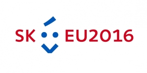 Logo of the  Slovak EU Council Presidency