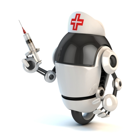 Robotic applications will bring about major changes in healthcare