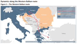 The Western Balkan route