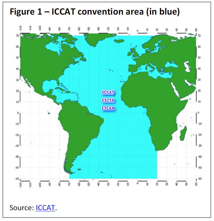 ICCAT convention area