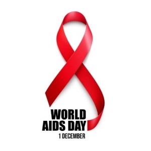 World Aids Day ribbon