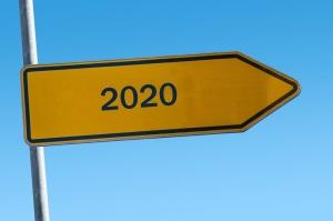 A road sign - 2020