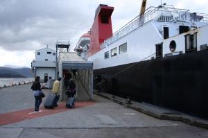 passengers boarding ferry