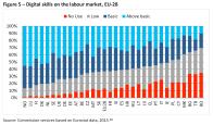Digital skills on the labour market, EU-28