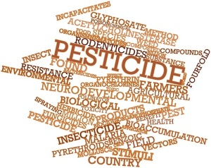 Abstract word cloud for Pesticide with related tags and terms