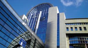 European Parliament building Brussels
