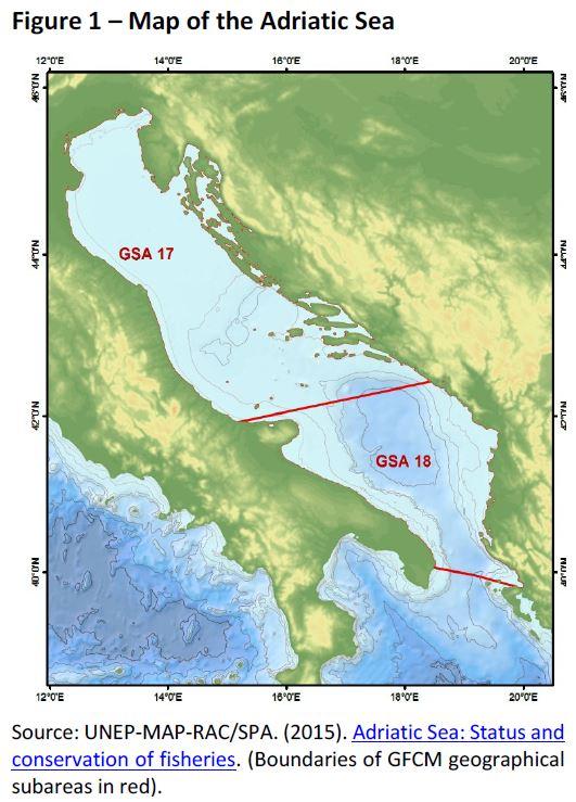 Map Of Europe Adriatic Sea