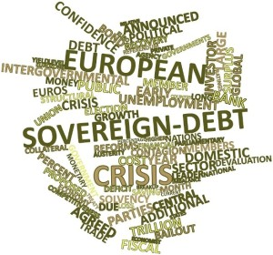 Sovereign debt wordcloud