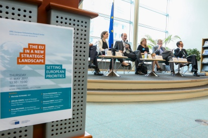 EPRS roundtable discussion - ' EU in the new strategic landscape: Setting European priorities '