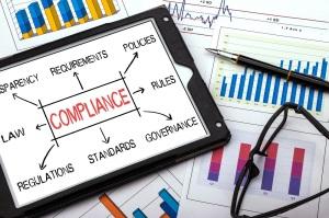 compliance concept flowchart