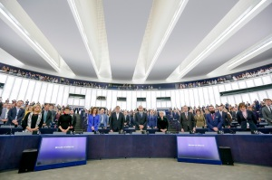 Plenary session week 43 2017 - Minute of Silence in Memory of Daphne CARUANA GALIZIA - Maltese Journalist