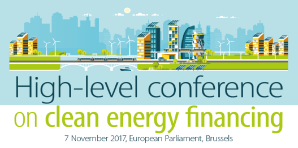 High-level conference on clean energy financing