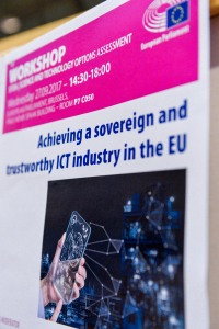STOA Workshop - ' Achieving a sovereign and trustworthy ICT industry in the EU '